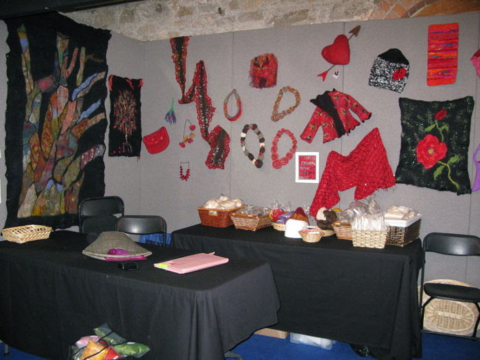 Knitting and Stitching Show 2008 FELTMAKERS IRELAND