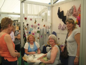 Mary, Clodagh & Suzanne at Bloom 2009