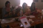 Gabi, Gina & Holly at Collins Barracks