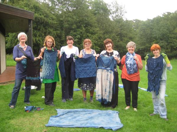 Indigo Dyeing Day July 31st 2011