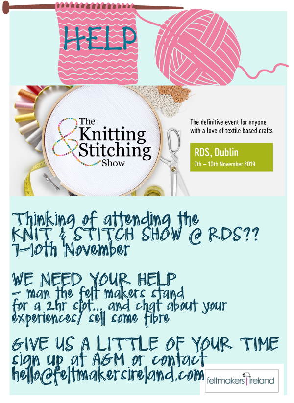 KNIT AND STITCH SHOW HELP