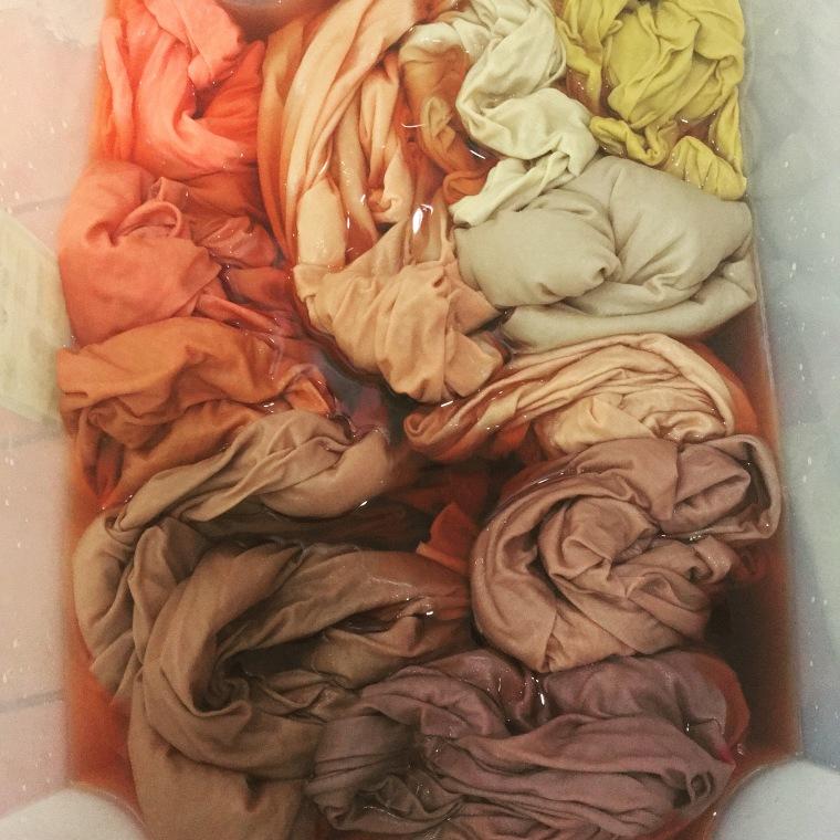 Dye bath for Dave